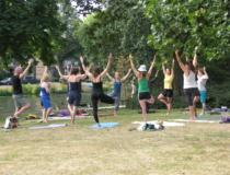 Zondag 30 juni: Yoga in het park!