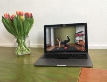 Wekelijks online lessen thuis op je eigen moment, totdat de fysieke studio weer open is.
