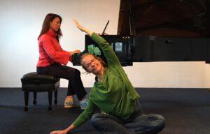 Piano en yoga