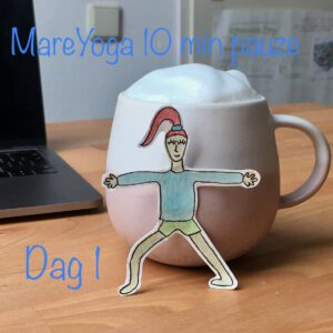 10 min yoga pauze dag 1