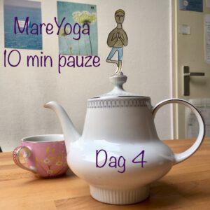 10 min pauze dag 4