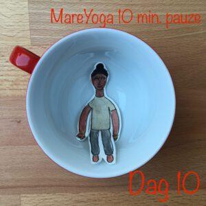 10 min pauze dag 10