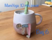 MareYoga 10 min pauze dag 6: dynamische staande houdingen