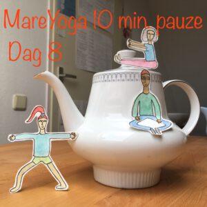 10 min pauze dag 8