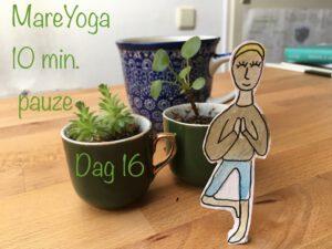10 min. yogapauze dag 16