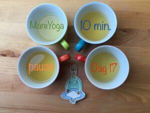 10 min. yoga pauze dag 17