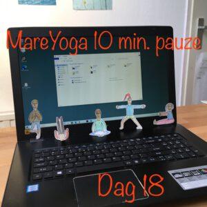 10 min. yoga pauze dag 18
