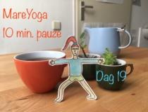MareYoga 10 min. pauze dag 19: hatha yoga