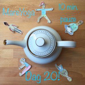 10 min. yoga pauze dag 20
